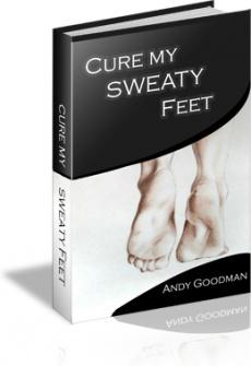Ebook cover: Cure My Sweaty Feet