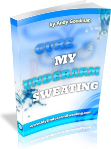 Ebook cover: Cure My Underarm Sweating