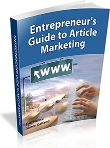 Ebook cover: Entrepreneur's Guide To Article Marketing