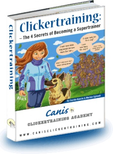 Ebook cover: Clickertraining: The 4 Secrets of Becoming a Supertrainer