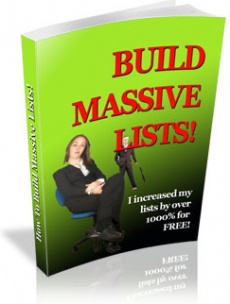 Ebook cover: Building Massive Lists