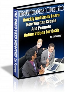 Ebook cover: The Video Cash Blueprint