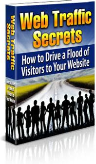 Ebook cover: Web Traffic Secrets