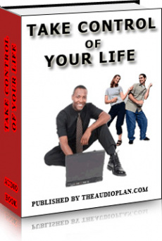 Ebook cover: Take Control Of  Your Life