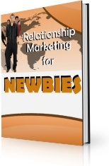 Ebook cover: Relationship Marketing for Newbies