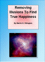 Ebook cover: Removing Illusions to Find True Happiness