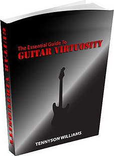 Ebook cover: The Essential Guide To Guitar Virtuosity