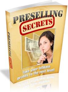 Ebook cover: Preselling Secrets