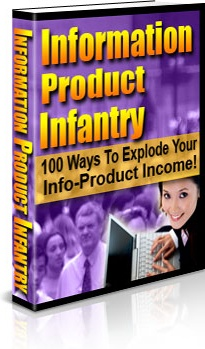 Ebook cover: Information Product Infantry