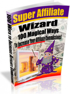 Ebook cover: Super Affiliate Wizard