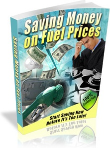 Ebook cover: Saving Money on Fuel Prices