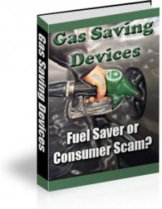 Ebook cover: Gas-saving Devices