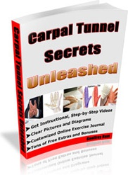 Ebook cover: Carpal Tunnel Secrets Unleashed
