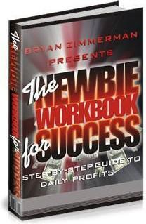 Ebook cover: The NEWBIE Workbook for SUCCESS