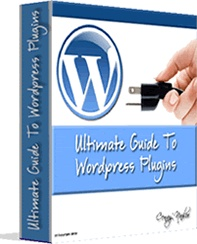 Ebook cover: Ultimate Guide To Wordpress Plugins