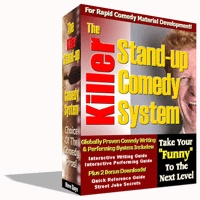 Ebook cover: The Killer Stand-up Comedy System