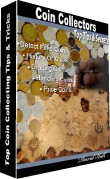 Ebook cover: Coin Collecting