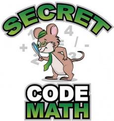 Ebook cover: Secret Code Math