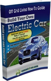 Ebook cover: Build Your Own Electrical Car
