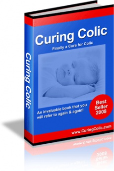 Ebook cover: Curing Colic Finally a Cure for Colic
