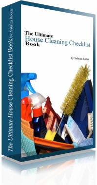 Ebook cover: The Ultimate House Cleaning Checklist Book