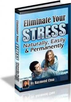 Ebook cover: Eliminate Your Stress Naturally, Easily & Permanently