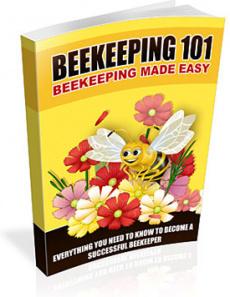 Ebook cover: Beekeeping 101