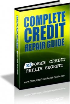 Ebook cover: Complete Credit Repair Guide