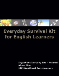 Ebook cover: Everyday Survival Kit for English Learners