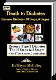 Ebook cover: Death to Diabetes: Reverse Type 2 Diabetes in 10 Steps