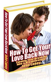 Ebook cover: How To Get Your Ex Back Now