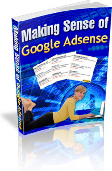 Ebook cover: Making Sense of Google AdSense