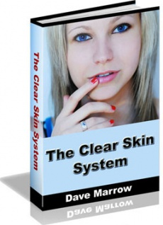 Ebook cover: The Clear Skin System