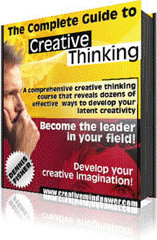 Ebook cover: The Complete Guide to Creative Thinking