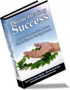 Ebook cover: Divine Healing Success