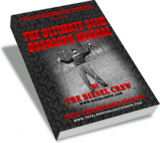 Ebook cover: THE ULTIMATE SLED DRAGGING MANUAL