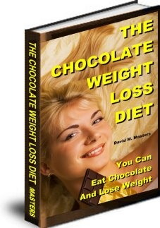 Ebook cover: The Chocolate Weight Loss Diet System
