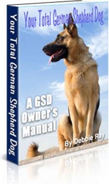 Ebook cover: Your Total German Shepherd Dog