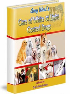 Ebook cover: Care of White & Light-Coated Dogs