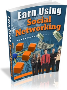 Ebook cover: Earning From Social Networking
