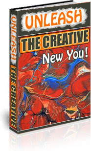 Ebook cover: Unleashing the Creative New You!