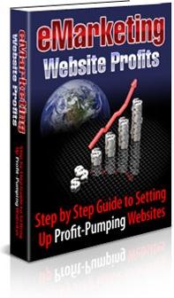 Ebook cover: E-Marketing Website Profits