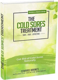 Ebook cover: Cold Sore Treatment