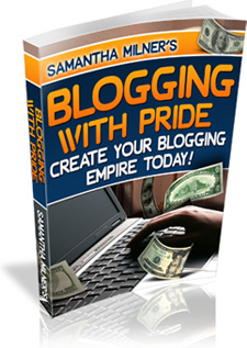 Ebook cover: Blogging With Pride