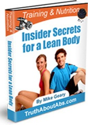 Ebook cover: Insiders Secrets for a Lean Body