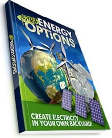 Ebook cover: free Energy Options Create Electricity In Your Own Backyard!