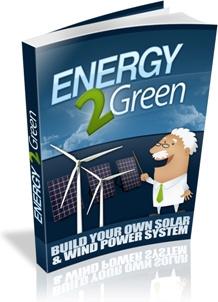 Ebook cover: Energy 2 Green