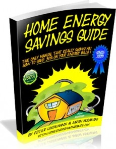 Ebook cover: Save On Home Energy
