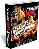 Ebook cover: Ultimate MMA Strength and Conditioning