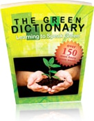 Ebook cover: The Green Dictionary